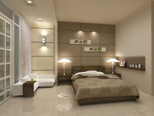 Thiết kế đèn chiếu sáng phòng ngủ