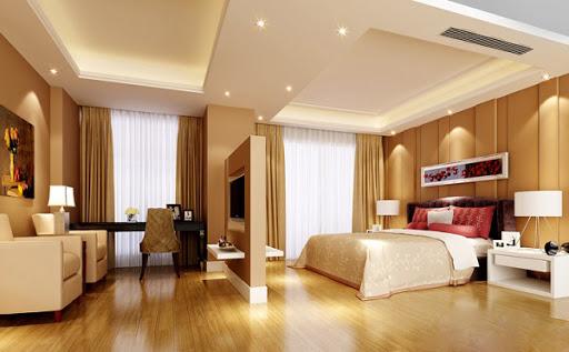 Thiết kế đèn chiếu sáng phòng ngủ đẹp